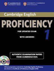 Beautiful Cambridge English Proficiency authentic examination papers from Cambridge ESOL