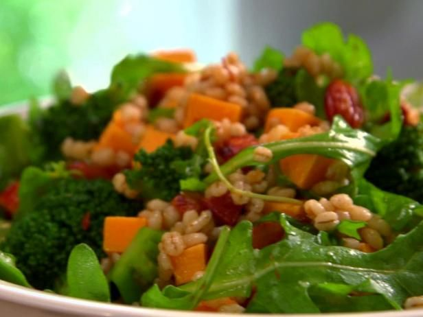 Get Broccoli and Barley Smoked Paprika Salad Recipe from Food Network