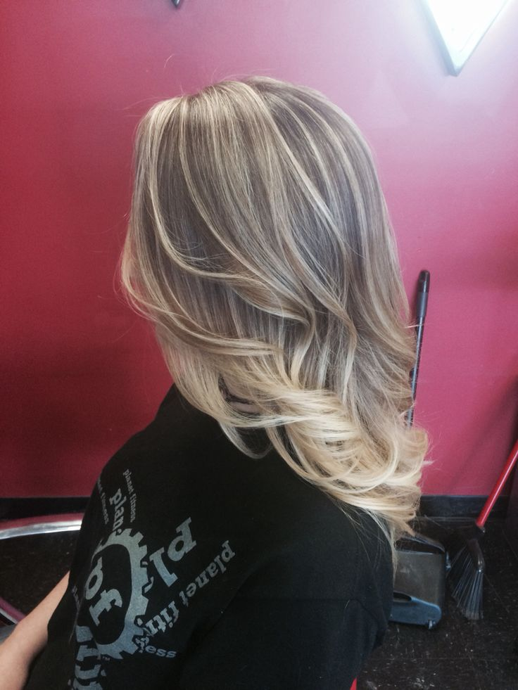 Hair By Michelle Blonde Ombr 233 Baby Lights Hair
