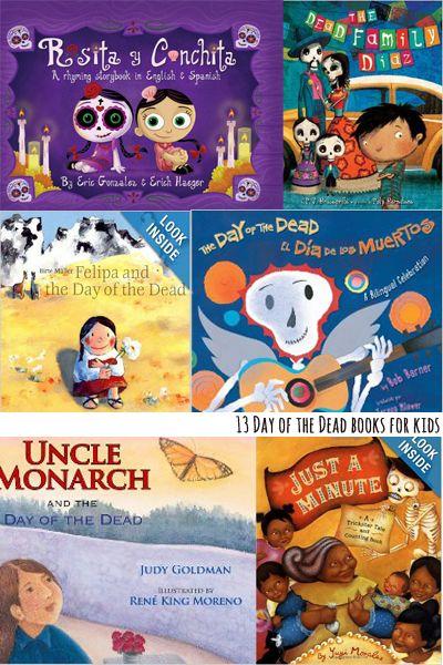 Dia de los Muertos kindergarten picture books