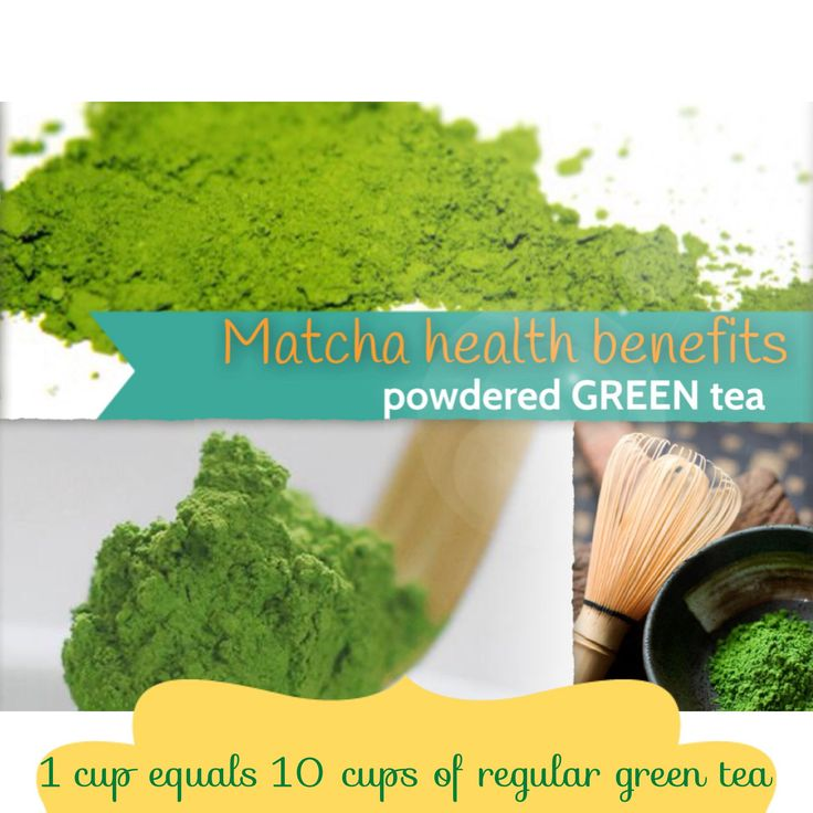 Matcha Green Tea Powder Health Benefits: EGCG