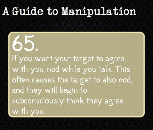 A Guide To Manipulation. I love how these have a darker background than the guides to Deduction. It's ad if it's to manipulate you into believing it's all dark and..stuff...