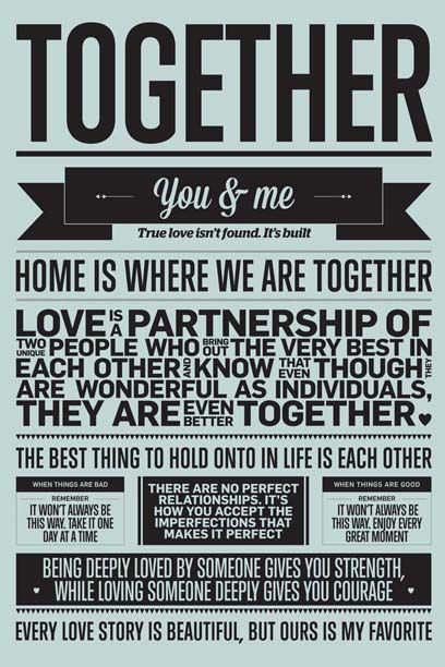 Together fra I LOVE MY TYPE