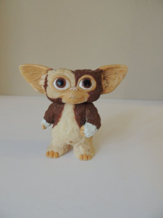 Gizmo From The Gremlins. 1984 LIN TOYS LTD. by austinbaubles