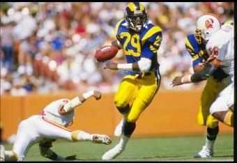 best nfl running backs of all time | Top 10 NFL Running Backs of All Time: No. 5 Eric Dickerson ...