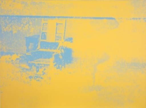 Artwork by Andy Warhol, Electric Chairs, [no title], Made of Screenprint on paper