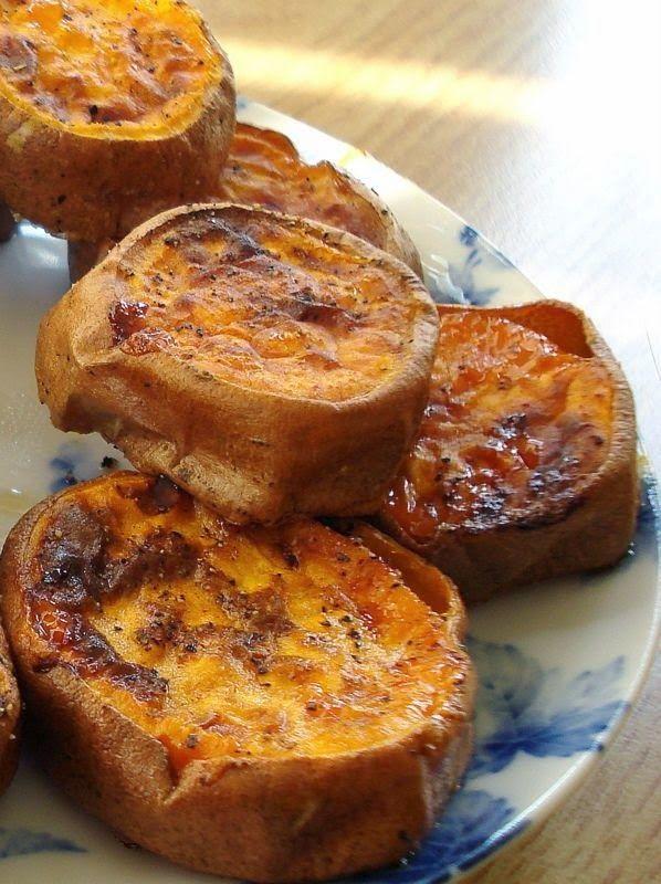 Slow Roasted Sweet Potatoes