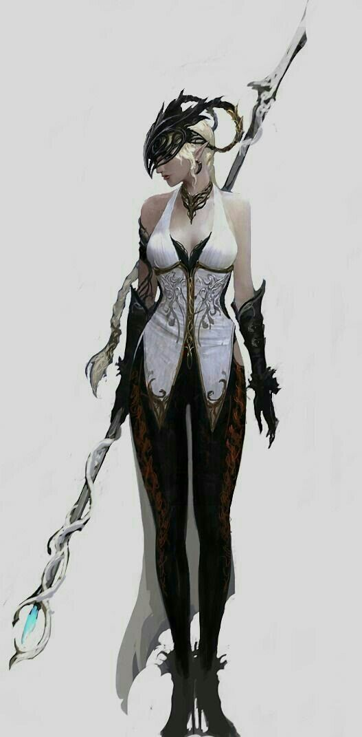Female Wizard - Pathfinder PFRPG DND D&D d20 fantasy