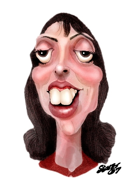 Shelley Duvall | Caricaturas/Famosos | Pinterest | Robert ...