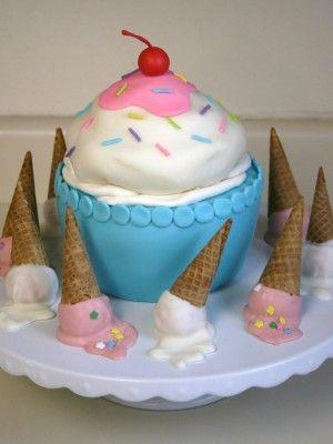 Images On Ice Cream Cakes