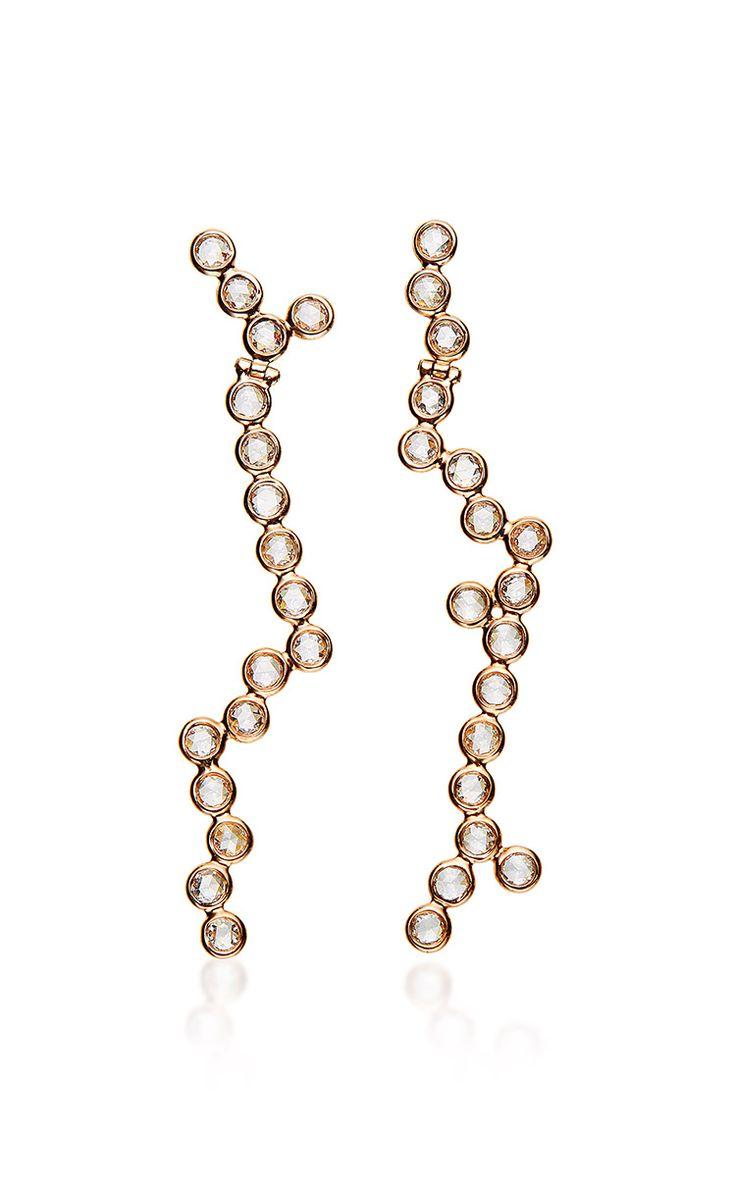 18K Rose Gold Yves Earrings - Lito Resort 2016 - Preorder now on Moda Operandi
