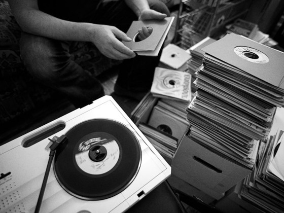 A Photography Book About Vinyl Collectors - Dust & Grooves. by Eilon, via Kickstarter.