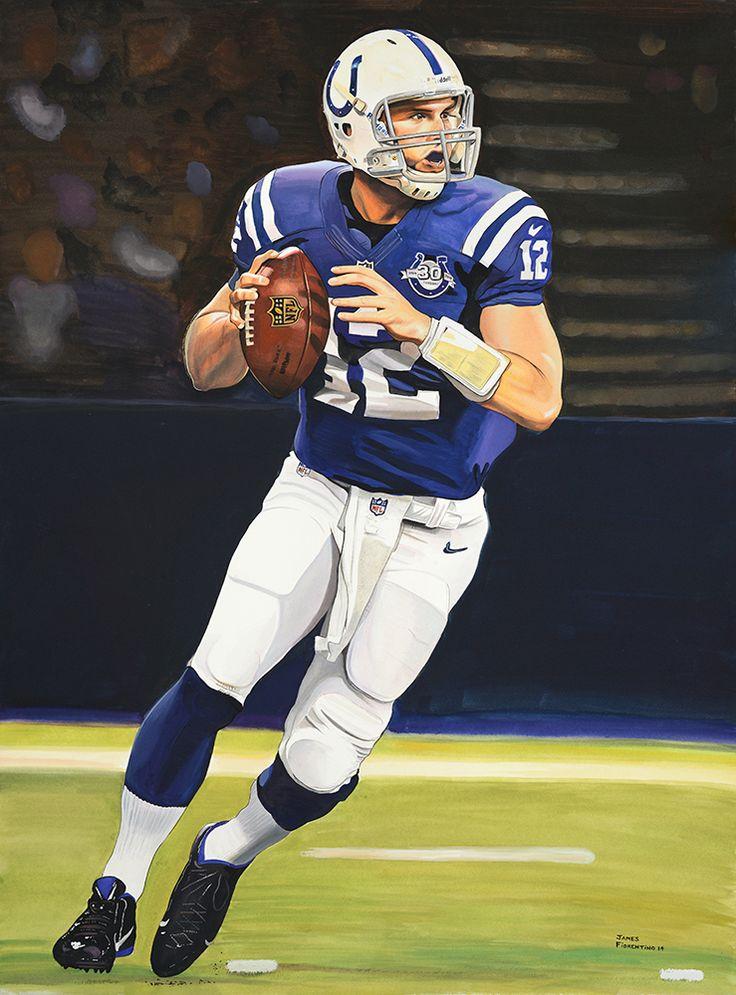 161 Best Nfl Art Balt Indy Colts Images On Pinterest