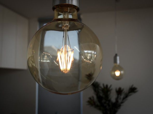 LED lights that have warm light, long life and a vintage look