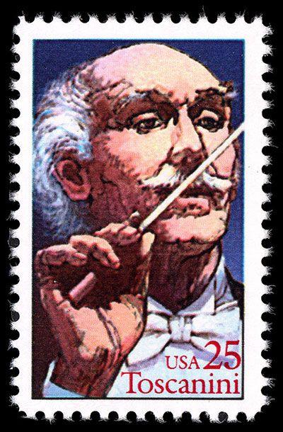Arturo Toscanini stamp