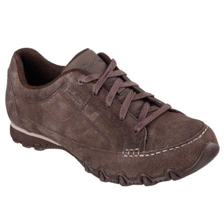 Skechers 49336CHOC Women's BIKERS - CURBED Casual Shoes.  Bought for work at the Skechers Outlet.  Memory Foam on inside