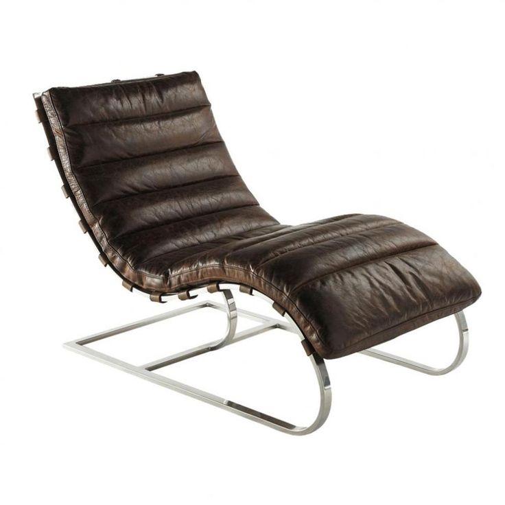 1000 id es propos de chaises en cuir marron sur - Chaises cuir marron ...