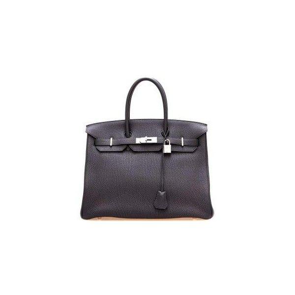 Hermès - Birkin Bag - Leihen oder Mieten bei Fashionette.de ($325) ❤ liked on Polyvore featuring bags, handbags, borse, purses, taschen, purse bag, handbags purses, hermes handbags, hermès and purple bag