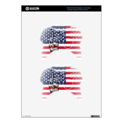 Usa United States Us America Peace Hand Nation Xbox 360 Controller Skins - diy cyo customize create your own #personalize