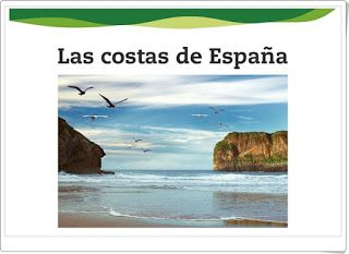 """Unidad 2 de Ciencias Sociales de 6º de Primaria: """"El relieve de costa de España"""""""