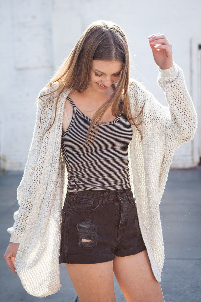 Brandy ♥ Melville | Moselle Cardigan - Sweaters - Clothing