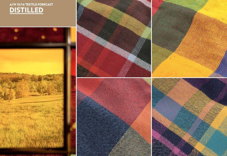 A/W 15/16 Textile Forecast: Distilled filtered checks