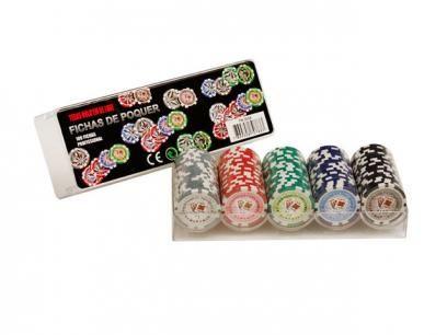 Jogo de Poker Profissional 100 Fichas - Incasa FN0004 com as melhores condições você encontra no Magazine Raimundogarcia. Confira!