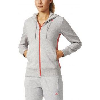 joggings survetements adidas performance veste a capuche adidas ess mid s pour femme gris x
