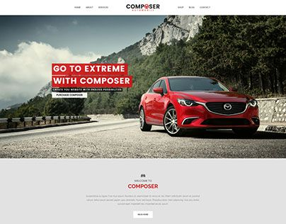 """Check out new work on my @Behance portfolio: """"Composer - Automobile Demo"""" http://be.net/gallery/43934321/Composer-Automobile-Demo"""