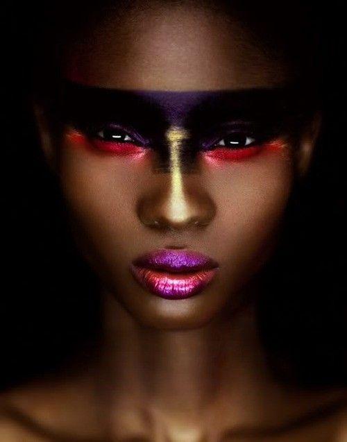 face paint / makeup