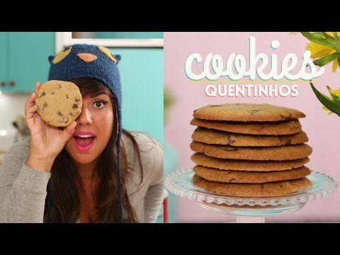 Aprenda passo a passo a fazer o verdadeiro cookie americano com gotas de chocolate inspirado no melhor cookie de Nova Iorque, o do Jacques Torres. ME SIGAM F...
