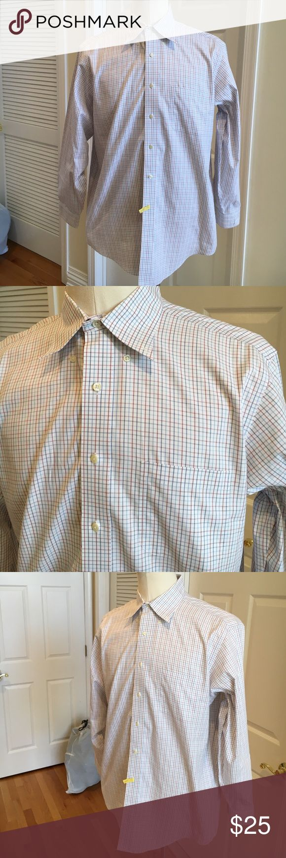 Brooks Brother Non Iron dress shirt ✨Brand new condition, just dry cleaned Brooks Brothers Shirts Dress Shirts