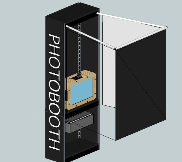 Hello, My fiance and I are getting married in October 2011 and we decided we wanted to build a photobooth for the wedding. We saw that the photobooths out there were nice but $1000 was too much. I asked her if I could build us something dorky for our wedding and she said only if it's not tacky. So I figured what better than this. We decided we could use it as the guest book and we could make our own picture frames and give them out as the wedding favors. This instructable is broken do...
