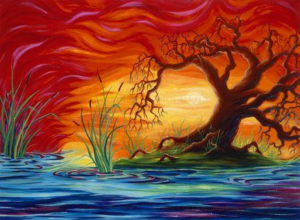 Картинки природы с художниками