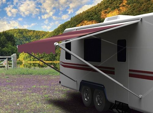 The Carefree Pioneer Lite Awning Is Simply Easiest Full Size Patio To Operate
