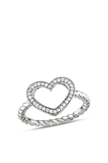 heart ring: Silver Diamonds, Heart Jewelry, Sterling Silver Heart, Heart Rings, Fashion Rings, Diamonds Heart, Beautiful Heart, Pretty Jewelry, Bands Fashion