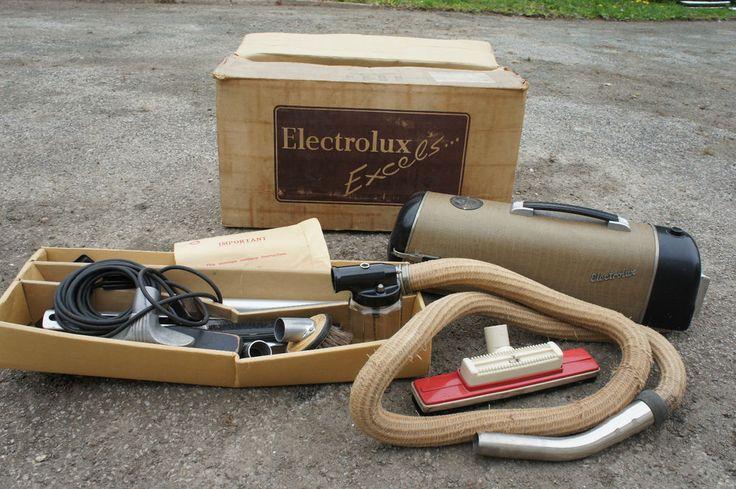 Vintage Retro Electrolux Hoover Complete Original Box