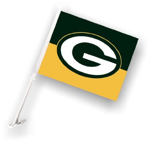 NFL Green Bay Packers Car Flag - http://www.caraccessoriesonlinemarket.com/nfl-green-bay-packers-car-flag/  #Flag, #Green, #Packers #All-Green-Automotive, #Green-Automotive