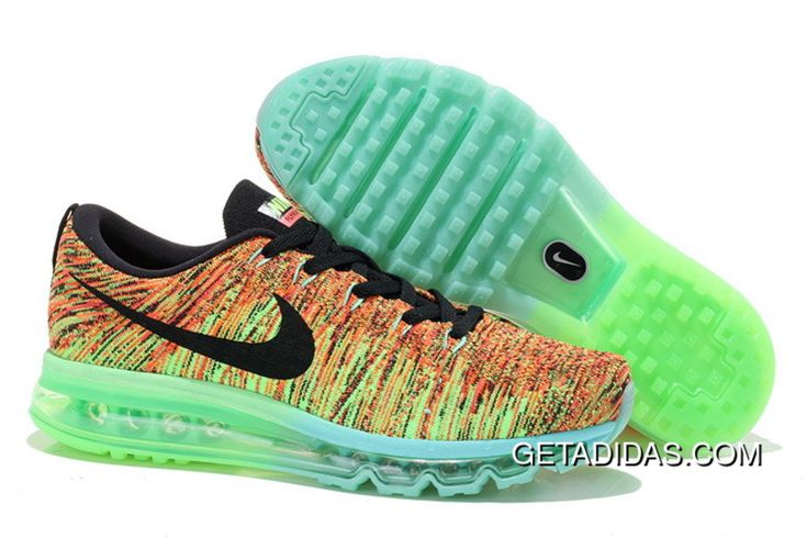 https://www.getadidas.com/nike-flyknit-air-max-black-green-orange-topdeals.html NIKE FLYKNIT AIR MAX BLACK GREEN ORANGE TOPDEALS : $87.50