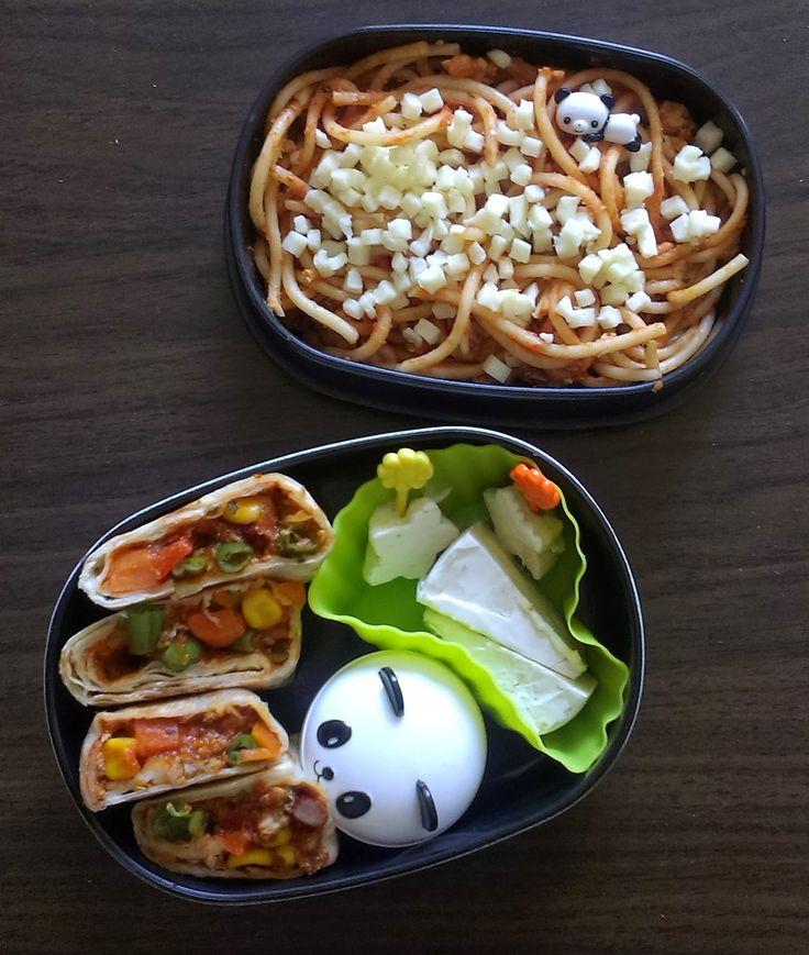 burritos and spaghetti