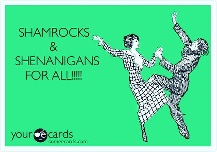 Happy Saint Patrick's Day!!! #happystpatricksday #happystpattysday #shenanigans #irish #party #fun #funny #havefun #celebrate