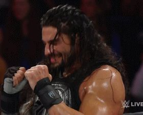 Roman's reaction to the result of the poll was so freaking adorable!