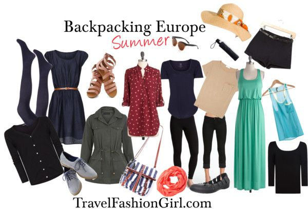 The Only Backpacking Packing List for Europe You'll Ever Need! Sooo I guess I need a combo of both this and the other collection!