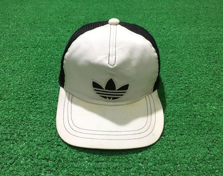 A personal favorite from my Etsy shop https://www.etsy.com/listing/507052234/vintage-90s-adidas-trucker-cap-trefoil