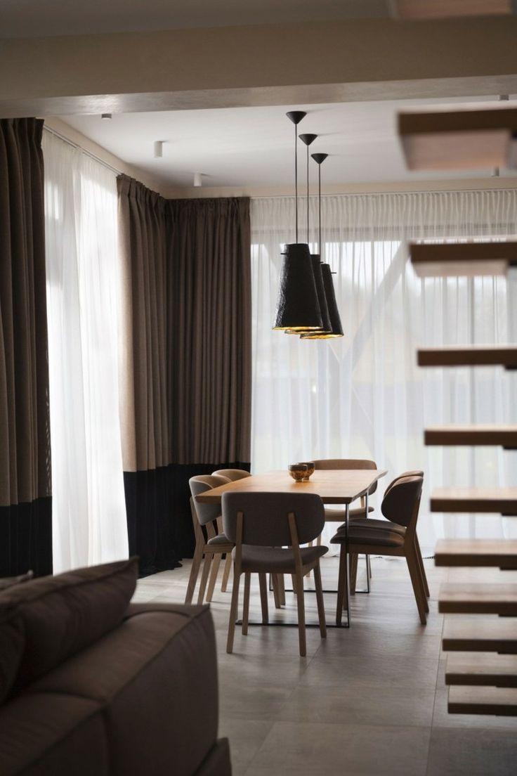 Df5411 esquemas de color casa exteriores con persianas negras - Decoracion De Comedores Muebles Color Beige Ideas