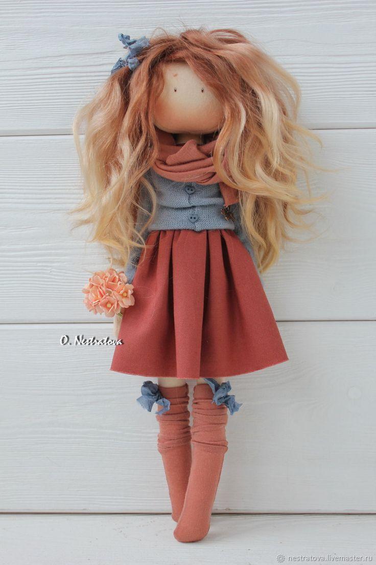 Коллекционные куклы ручной работы. Света. Интерьерная кукла. Олеся. Ярмарка Мастеров. Текстильная кукла, подарок женщине, decor doll