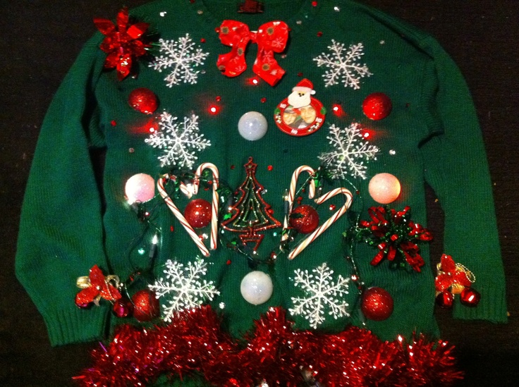 1000+ Images About DIY Ugly Xmas Sweaters & Exc : ) On