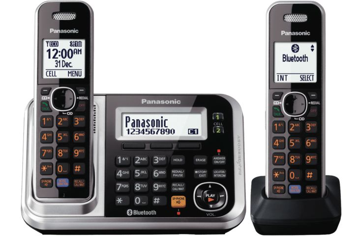 Panasonic KX-TG7892AZS Cordless Phone Twin Pack at The Good Guys
