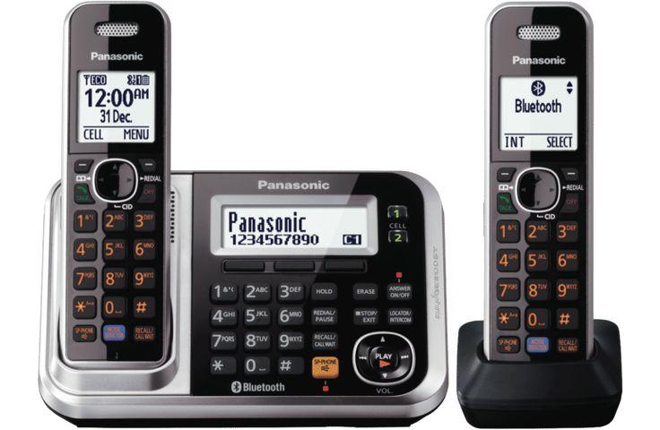 Panasonic KX-TG7892AZS Cordless Phone Twin Pack at The Good Guys