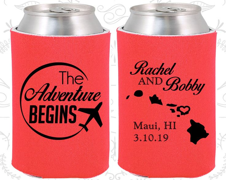 Tangerine Wedding, Can Coolers, Tangerine Wedding Favors, Tangerine Wedding Gift, Tangerine Wedding Coozies (278)